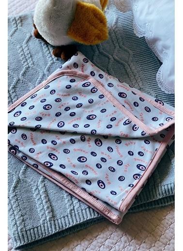 Arma Baby's Pembe Nazar Boncuklu Bebek Battaniye 70 x 70 Pembe